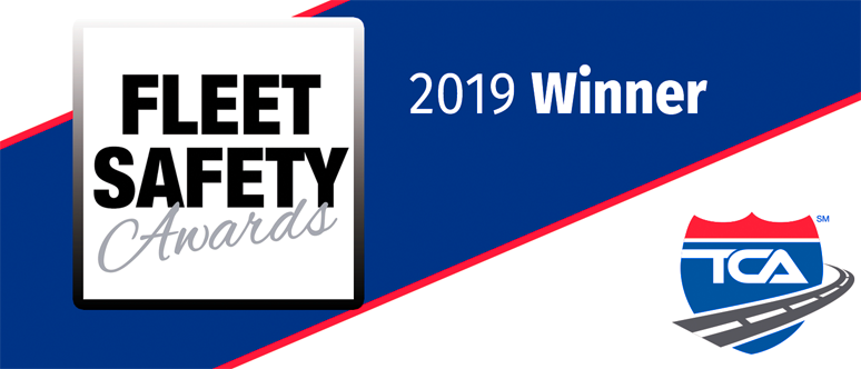 Fleet Safety 2019 Winner for Firstexpress for offering regional and local truck driver jobs in Nashville TN