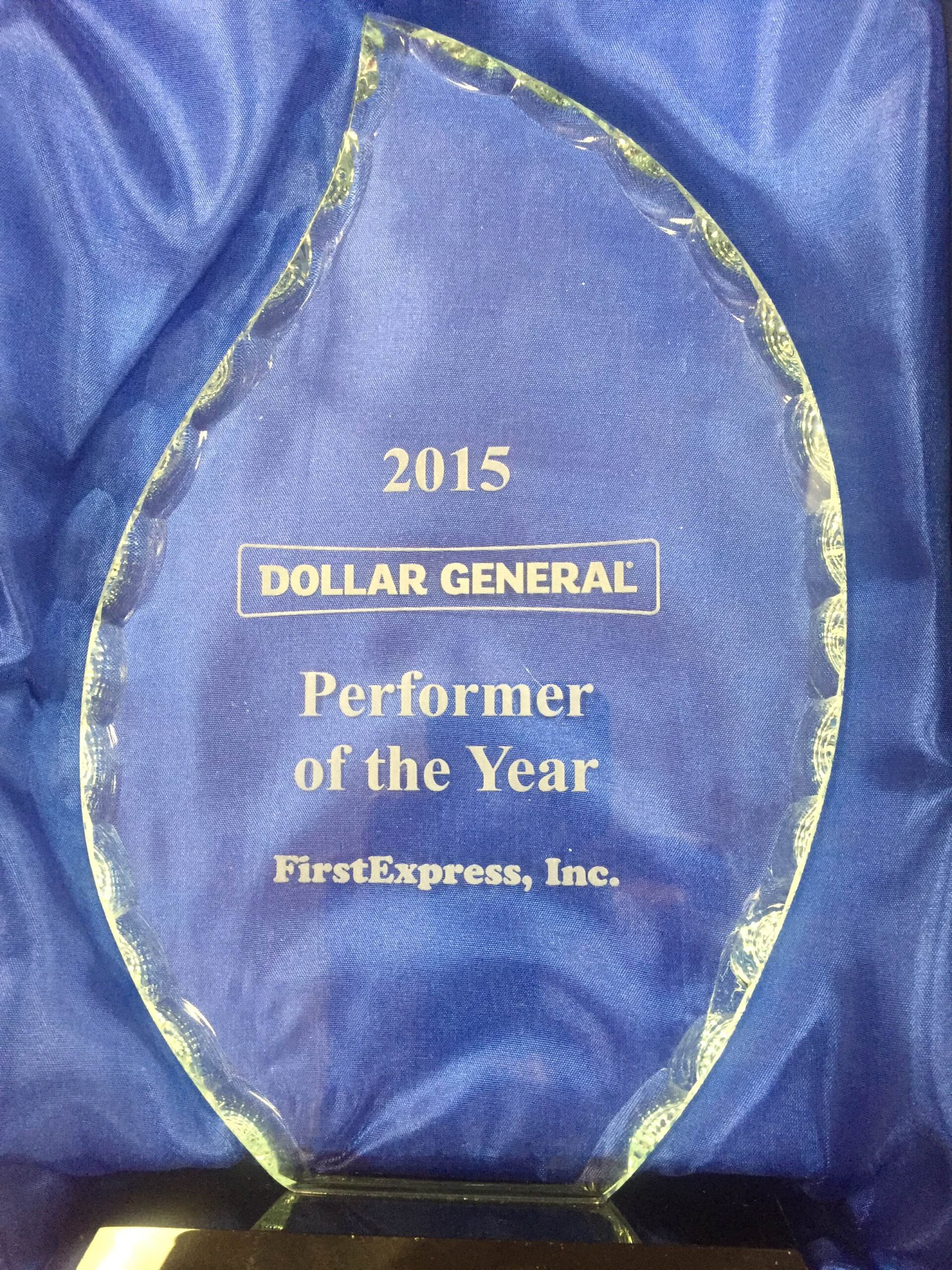 Performer of the year for Nashville truckload carriers with truckload carrier tracking